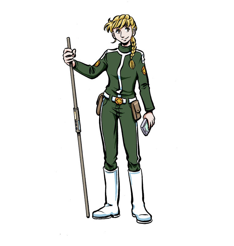 Aria in SCT uniform (colour)
