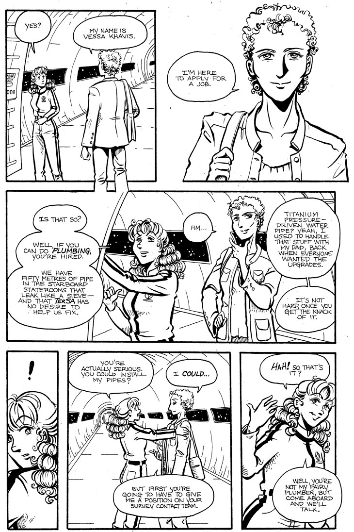 A Matter of Principle: p. 3