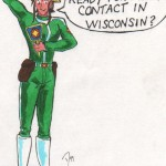 Patty visits Wisconsin by Dave van Domelen