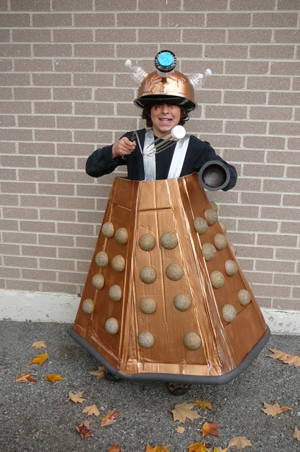 "He insisted he was ""Dalek Jast"" of the Cult of Skaro."
