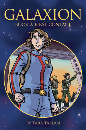 Galaxion Book 2L First Contact cover