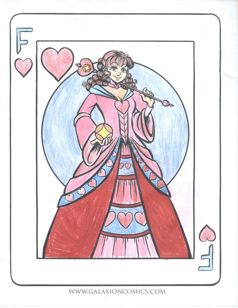 Fusella, coloured by Rachael