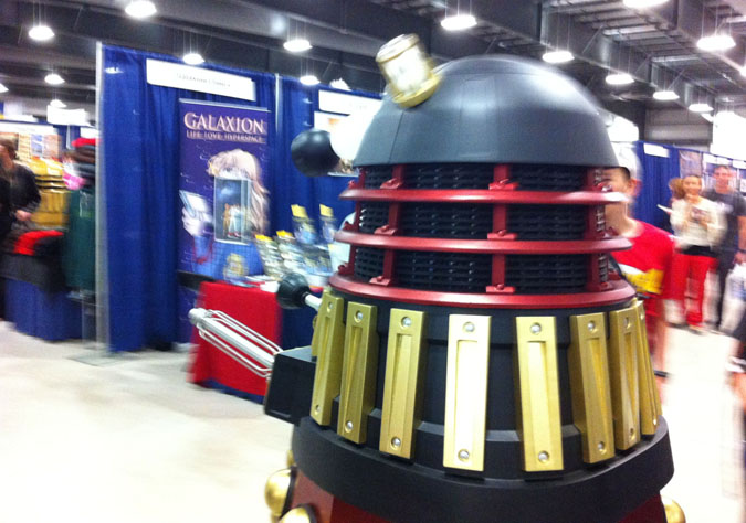 Dalek Invasion at the Ottawa Comiccon!