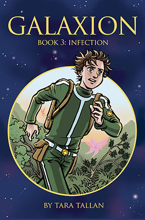 Cover image of Galaxion Book 3: Infection